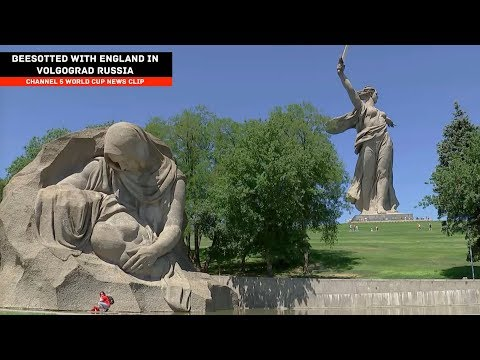 Beesotted with England in Volgograd, Russia - Channel 5 World Cup News Clip