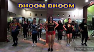 Dhoom Dhoom | bollywood | india | zumba | lilac