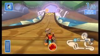 JumpStart Crazy Karts (Wii) HQ Gameplay