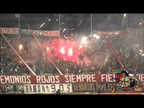 LOS DEMONIOS ROJOS l Caracas FC Vs Inti Gas Deportes l Copa Sudamericana 2014 l 28 08 2014