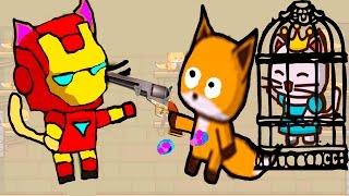 ИГРА как мультик - Ударный отряд котят - Strike force kitty - Для Детей - часть #1-3