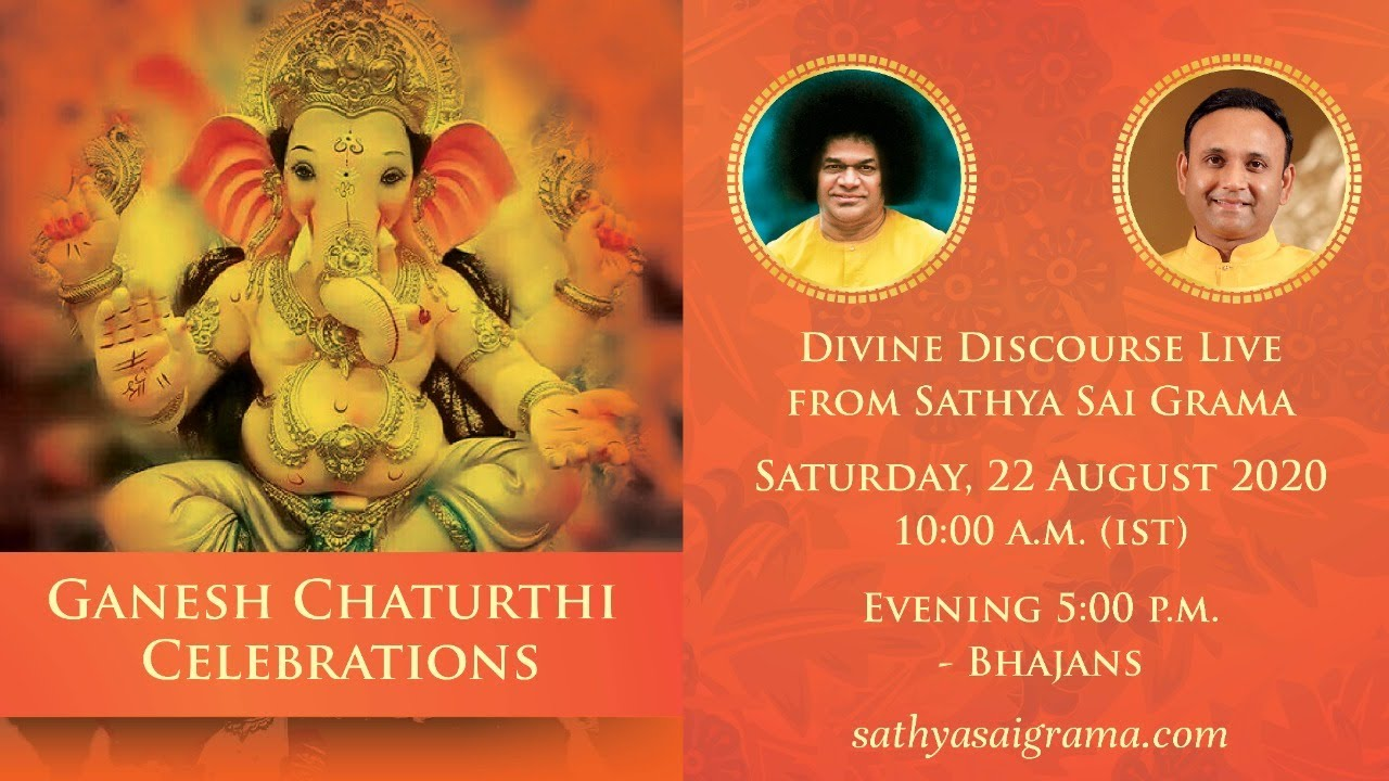 22 Aug 2020 - Evening - Ganesh Chaturthi  Celebrations Live from Muddenahalli