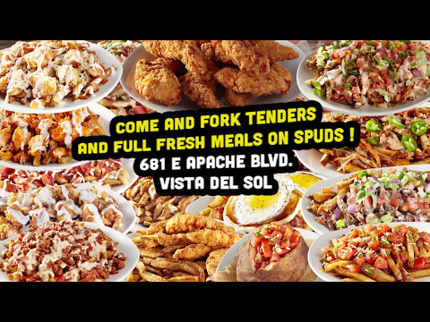 Come and Fork Tenders and Full Fresh Meals over Spuds at ASU