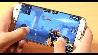Samsung Galaxy S7 Edge Gaming review in Bangla. N.B: ( Modern Combat 5 Multiplayer)