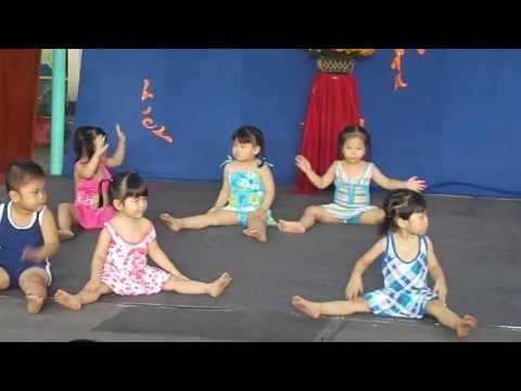 Múa tổng kết bé khoẻ bé ngoan trường MN Sơn Ca 2- Lớp nhà trẻ.