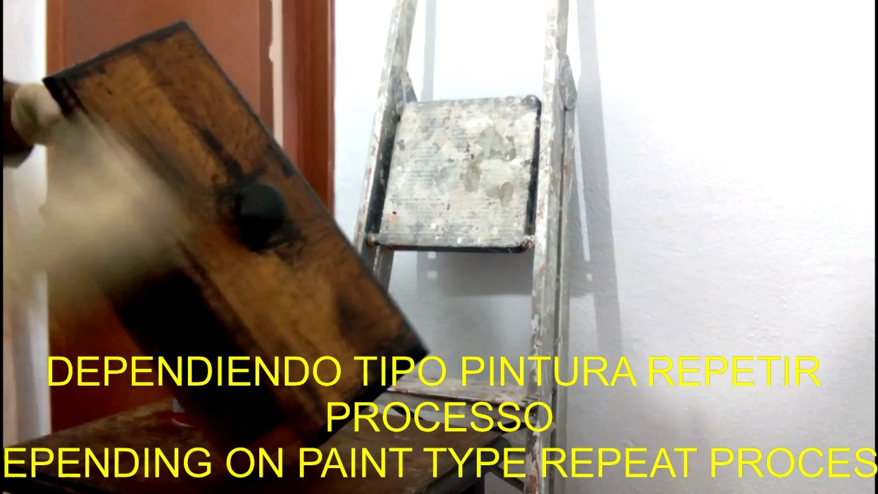 Quitar pintura de madera facilmente sub remove paint easy for Quitar pintura de madera