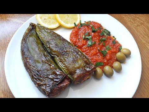 recette-tunisienne-de-poivrons-farcis-(felfel-mahchi)-au-poulet