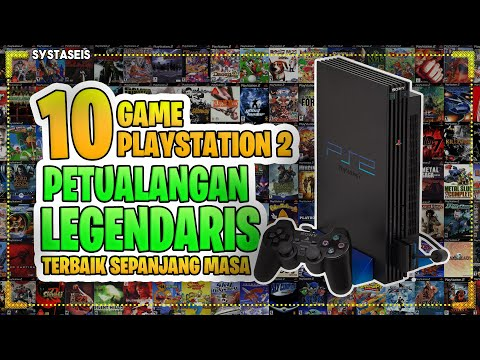 10 Game Petualangan PS2 Legendaris