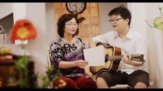 Con đường tình ta đi (guitar) - Singing with mom