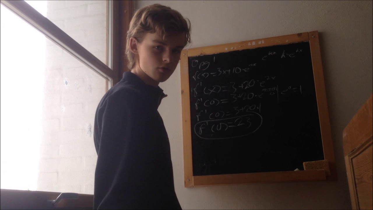 Aflevering 2 - Opgave 1 og 2 - Om differentialregning og tangenthældninger