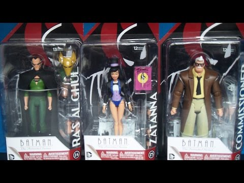 DC Collectibles Batman The Animated Series and The New Batman Adventures 2pk. Action Figures