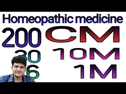 Homeopathic Medicine | potency | how to use | Dosage | 6ch 30ch 200ch 1m 10m CM |
