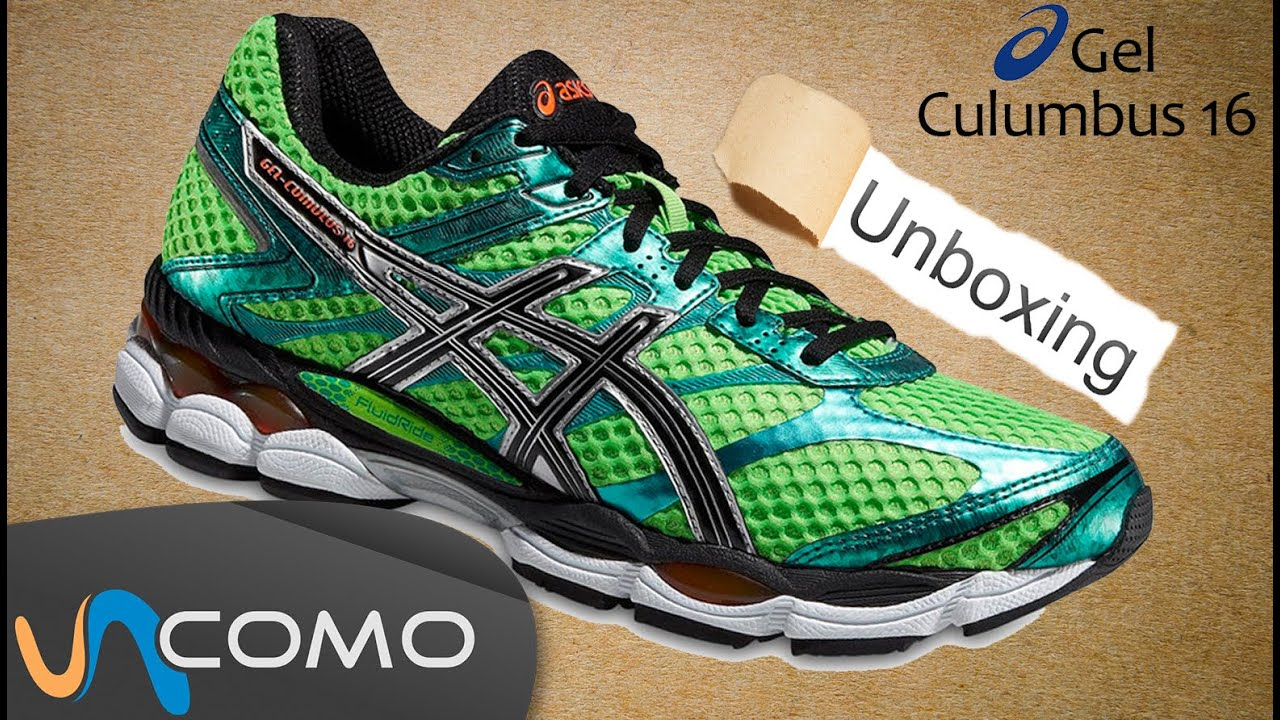 asics gel cumulus 16 zapatillas running youtube. Black Bedroom Furniture Sets. Home Design Ideas