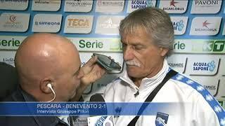 Pescara - Benevento 2-1: Giuseppe Pillon