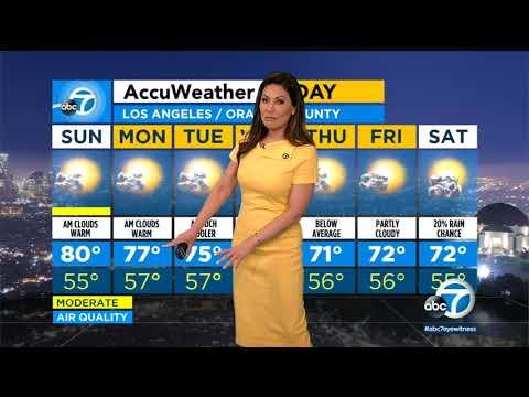 Latest weather with Kimi Evans I ABC7