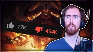 Asmongold Reacts to the Diablo Immortal Cinematic Trailer