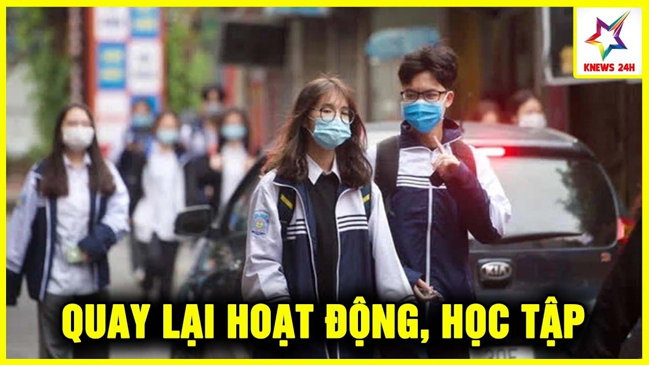 Ngày Đâu Tiên Quán Cafe Đồng Loạt Mở Cửa, Học Sinh Quay Lại Trường Học Sau Khi Nghỉ Dịch Tại Hà Nội