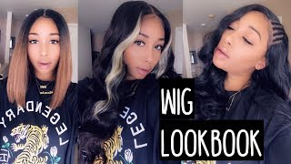 Synthetic Wig Lookbook| Ft. Glamourtress
