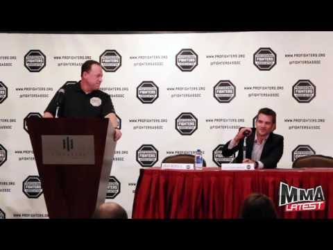 Professional Fighters Association Press Conference Highlights