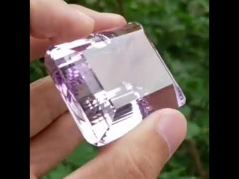 Big and Beautiful Faceted Amethyst Gemstone available for SALE