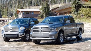 2014 toyota tundra takes on ram 1500 the ike gauntlet towing test episode 4