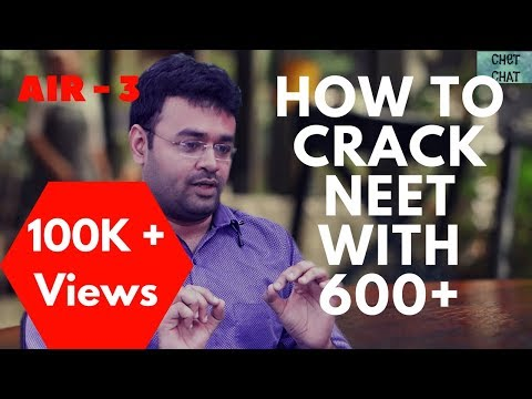 How To Crack NEET Without Coaching | How To Score 600+ In NEET In First Attempt | AIR-3 Topper Tips
