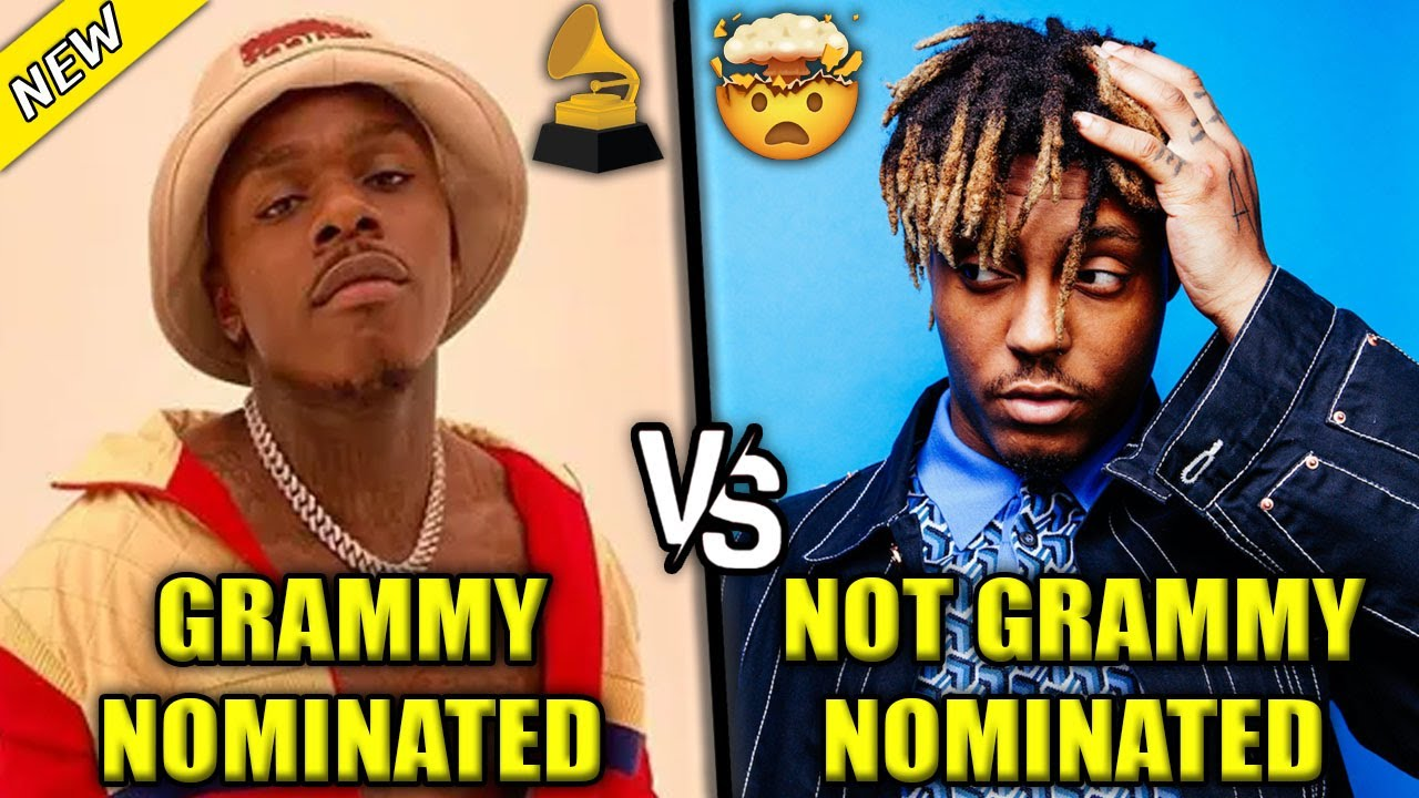 GRAMMY NOMINATED RAPPERS VS RAPPERS WHO WEREN'T NOMINATED 2021