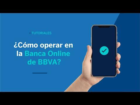 ¿Cómo operar en la Banca Online de BBVA? | BBVA ¿Cómo hago?