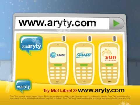 aryty load philippine