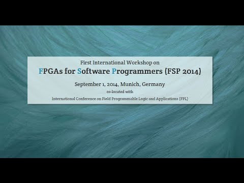 FSP 2014 -- High-Level Design of Portable and Scalable FPGA Accelerators (Markus Weinhardt)