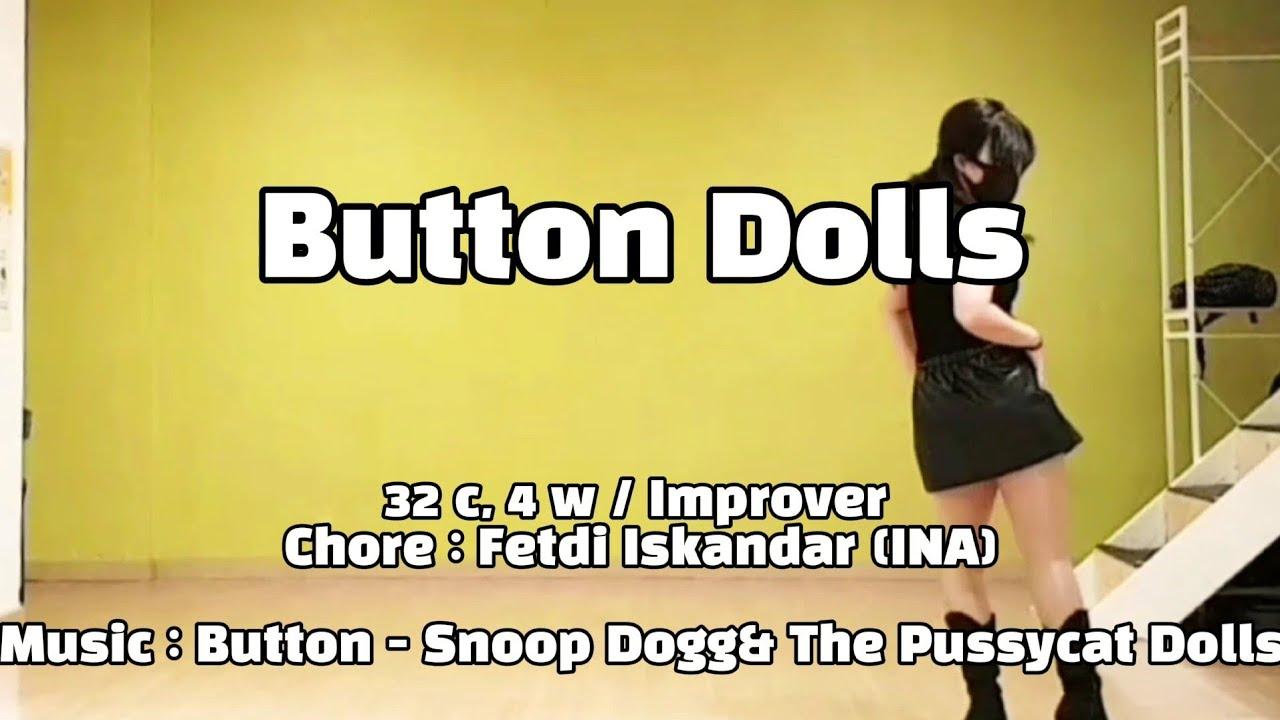 Button Dolls Line Dance|Improver| Buttons|