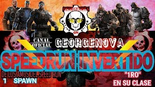 SPEEDRUN INVERTIDO | NUEVO SPAWN EN DE COMPRAS | GEARS OF WAR 4 | TIENES QUE INTENTARLO