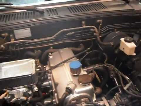 PART TWO Mazda b2000 How to, with 22L , Weber Carb  Pacesetter