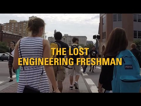 The Lost Engineering Freshman