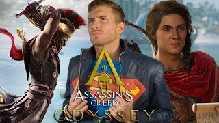 ASSASSIN'S CREED: ODYSSEY TRAILER REACTION AND GAMEPLAY | SK Reacts - #E32018