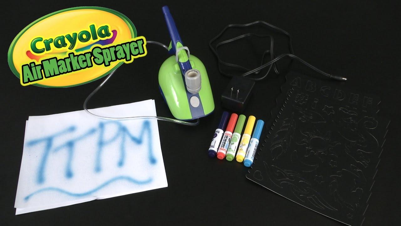 Air Marker Sprayer From Crayola