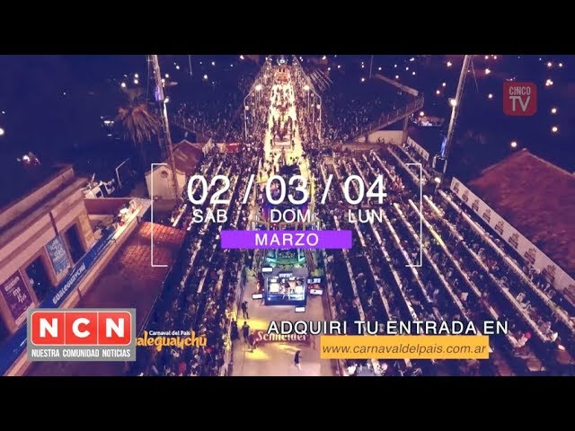 CINCO TV - El carnaval del país lanzó oficialmente la edición 2019