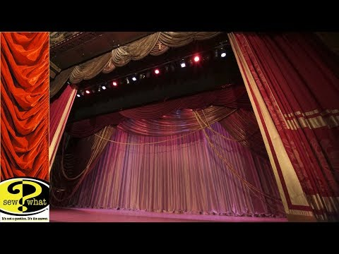 Rental Traveler Track -  Grand Cabaret Curtain at the Warner Grand Theatre