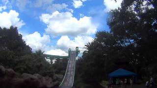 Tidal Wave from the bridge Busch Gardens Tampa Florida