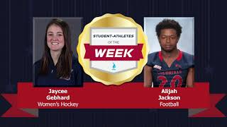 Student Athletes of the Week 10.10.18