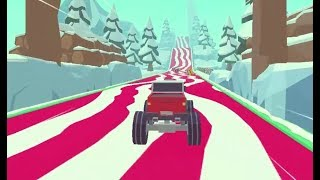 3D MONSTER TRUCK - ICYROADS GAME LEVEL 1-5