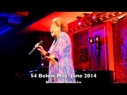 Coming to 54 Below - May-June 2014 - Performance Previews
