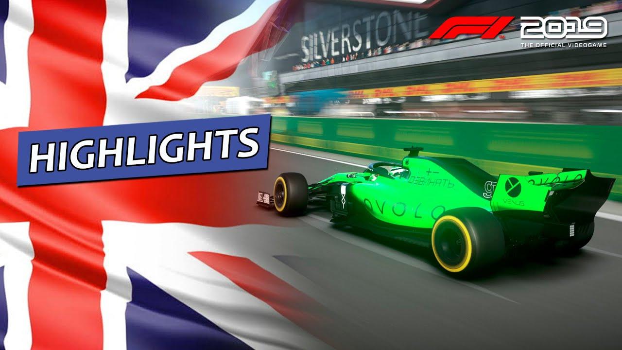 F1 2019 - Liga Warmup Extreme T11 - Etapa Final GP da Inglaterra (Highlights)