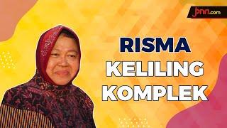 Bu Risma Tak Lelah Keliling Kampung Imbau Warga Jaga Jarak - JPNN.com