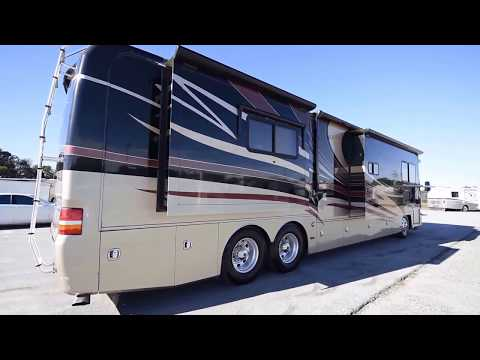 2008 Monaco Camelot 42PDQ A Class Tag Axle Diesel Pusher from Porter's RV Sales