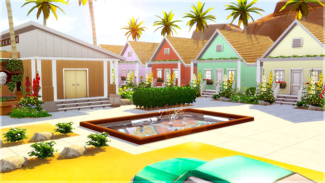 the sims 4 walkthrough oasis springs tropical resort youtube