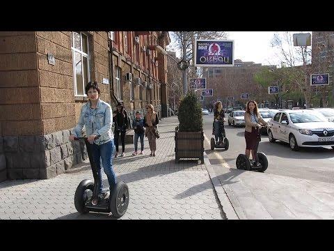Yerevan, 16.04.17, Su, Video-1, (на рус.) Прогулка от церкви св.Анны до Оперы