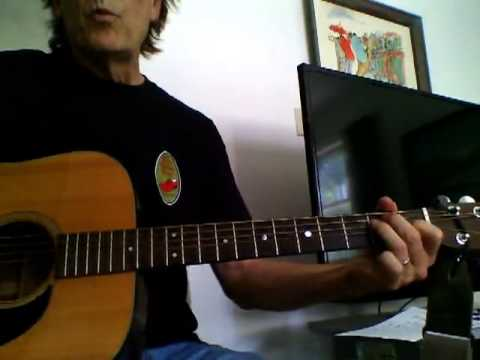 Guitar Corner by Randy: My Back Pages, Byrds vers, example strum mp3