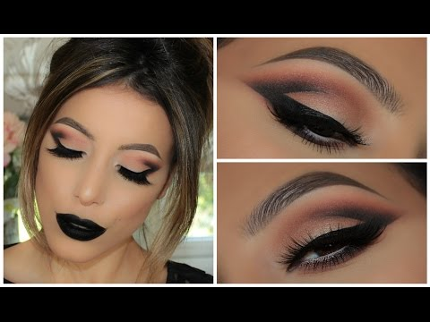 How To: Half Cut Crease | Dot to Dot Contouring | 2 Lip Options