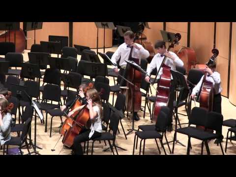 Feb. 25, 2015: The Escalante Middle School 7th-Grade Orchestra